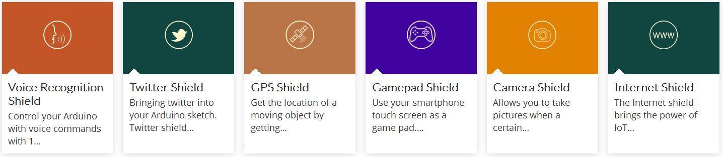 1Sheeld - 40 shields no Android - botnroll com