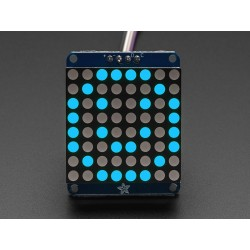 "Adafruit Small 1.2"" 8x8 LED..."