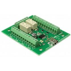 USB-RLY82 - 8 entradas + 2...