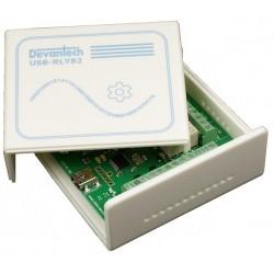USB-RLY82C - Caixa para...