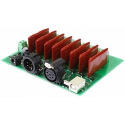 DMX-USB-RX-RLY8 - 8 SSR