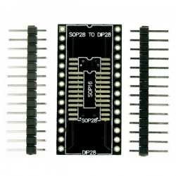 Placa de protótipo para SOP16/SOP28/SSOP28