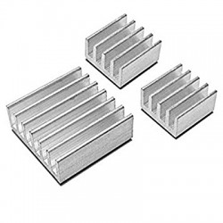 3x Aluminum Heatsink for...