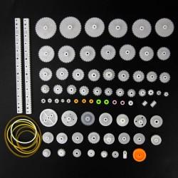 Plastic gears for motors 75pcs