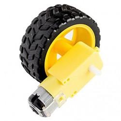 Hobby Gearmotor 200RPM +...