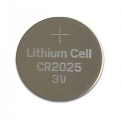 3V CR2025 Lithium Coin Battery