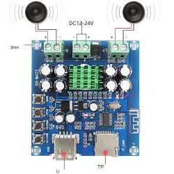 Audio Amplifier 50+50W...
