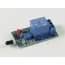 Sensor de Chama c/ Relé