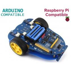 AlphaBot, plataforma robótica móvel compatível com Raspberry Pi e Arduino