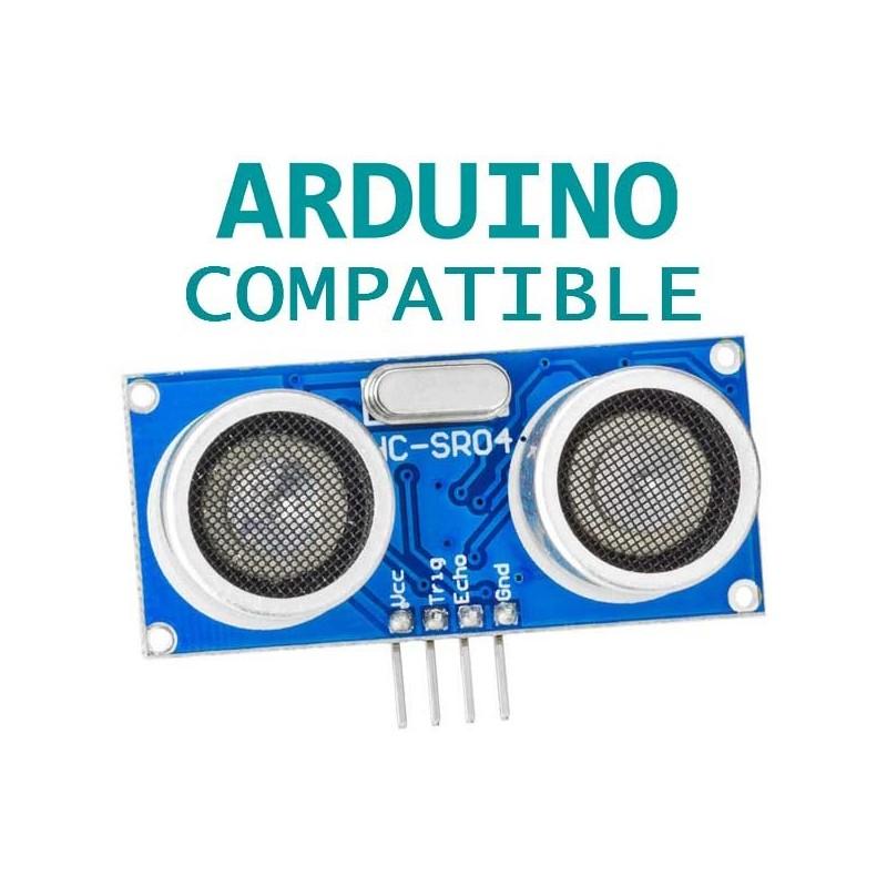 Ultrasonic sensor distance measuring module