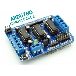 Motor Drive Shield L293D for Arduino (4*600mA)