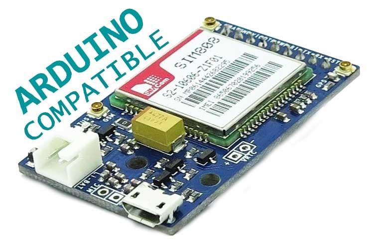 SIM808 GSM/GPRS/GPS Module - botnroll com