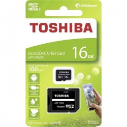 16GB microSDHC card TOSHIBA...