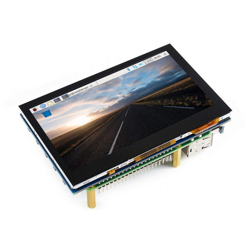 4 3inch HDMI LCD (B), 800x480, IPS, supports various systems
