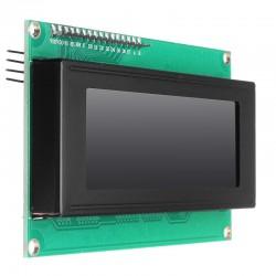 20x4 I2C LCD module Blue
