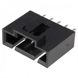 Conector NCDW 2.54mm c/travão - 5 pinos