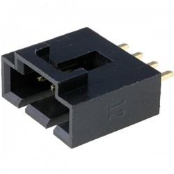 Conector NCDW 2.54mm c/travão - 4 pinos