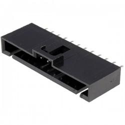 Conector NCDW 2.54mm c/travão - 12 pinos