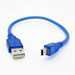 Cabo USB A - miniB 30cm