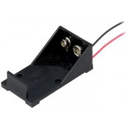 Holder 6LR61 9V battery...