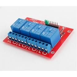 Módulo Relé 4 canais 5V  compatível com arduino