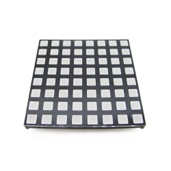 60mm square 8*8 LED Matrix - super bright RGB (square-dot)