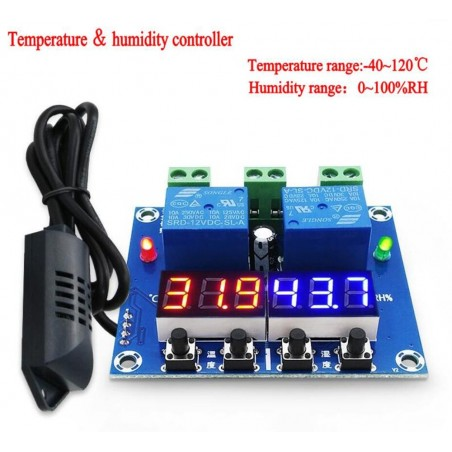 XH-M452 Controlador de temperatura e humidade