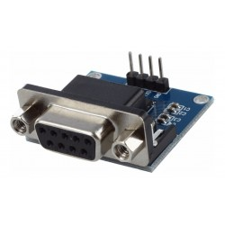 MAX3232 RS232 to TTL Serial Port Converter Module DB9 Connector NE0045 NEW UK