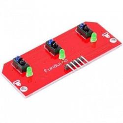 Line sensor 3 x TCRT5000