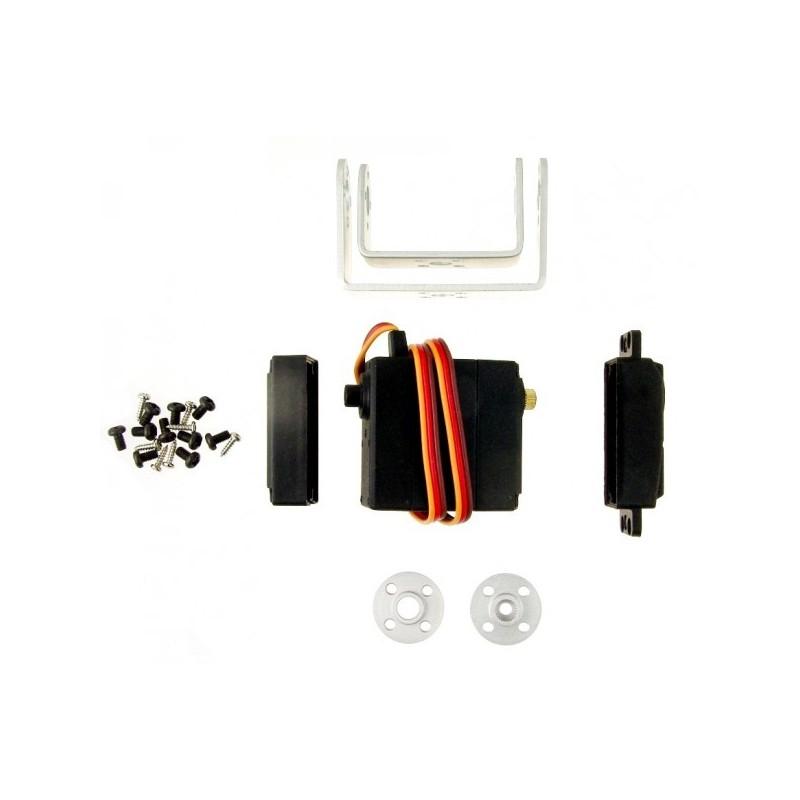 Kit Servo 20kg + Suporte Pan/Tilt DF15RMG