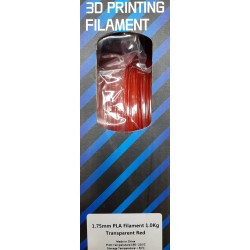 PLA FLASHFORGE 1Kg 1.75mm - Transparente c/ cor