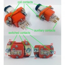 DC Power Contactor 200A,...
