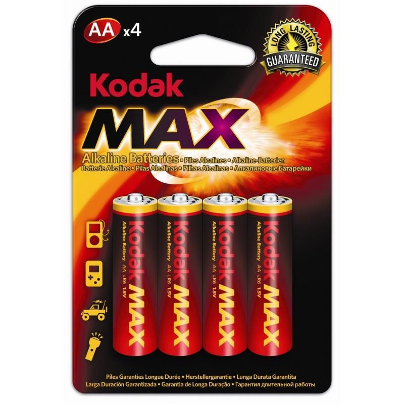 Pilhas AA alcalinas x4