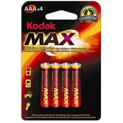 Alkaline batteries AAA x4