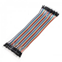 Fios Jumper flat-cable M/M...