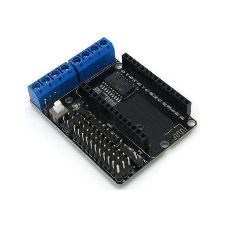 L293D Motor Drive Shield para módulo WiFi NodeMcu Lua ESP-12E