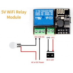 Relay Shield with ESP8266...