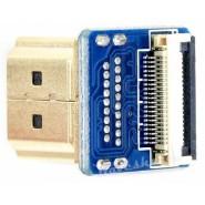 Adaptador HDMI para flat...