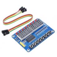 TM1638 Módulo c/ 8 LEDs 8...
