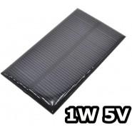Solar Panel 1W 5V 60x110mm