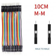40 Jumper Wires 10cm M/M...