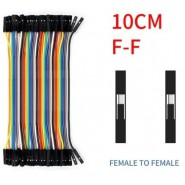 40 Jumper Wires 10cm F/F...