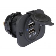 FLUSH MOUNT USB CAR CHARGER...