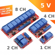 5V Relay module high and...