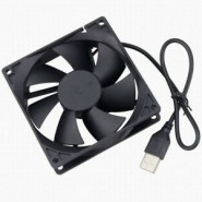 USB FAN 80X80X25MM 5Vdc...