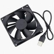 Ventilador 80X80X25mm USB...
