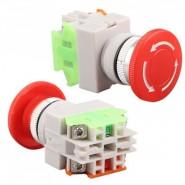 Mushroom Switch 10A / 400V