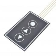 Teclado membrana 1x3 keypad