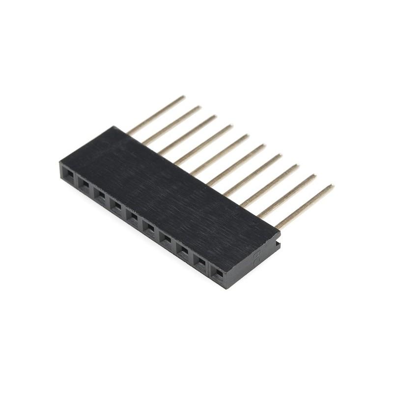 Conector 10 vias para arduino