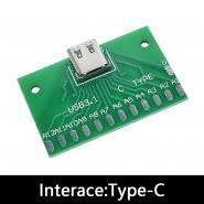 Adaptador USB-C para PCB